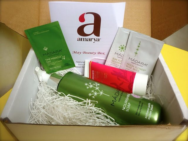 Amarya (LoveLula) Natural Beauty Box May 2013
