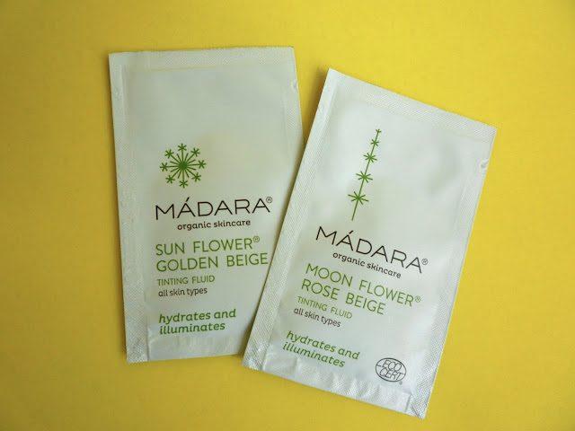 Madara Tinting Fluid samples