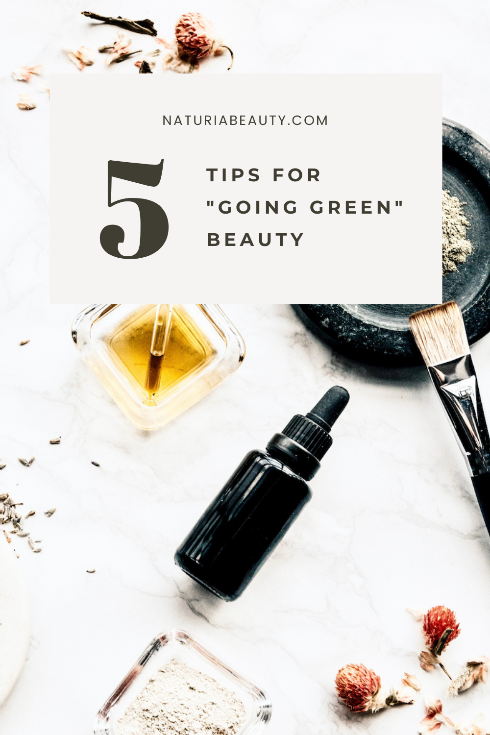Tips for how to switch to natural / organic / clean beauty products
