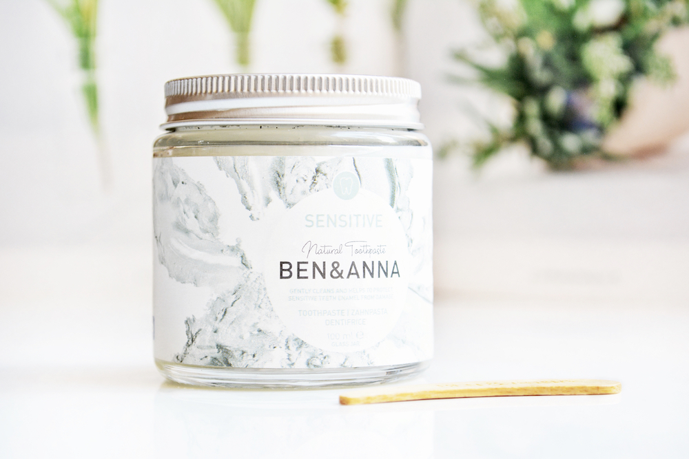 Review of Ben & Anna Sensitive Natural Toothpaste