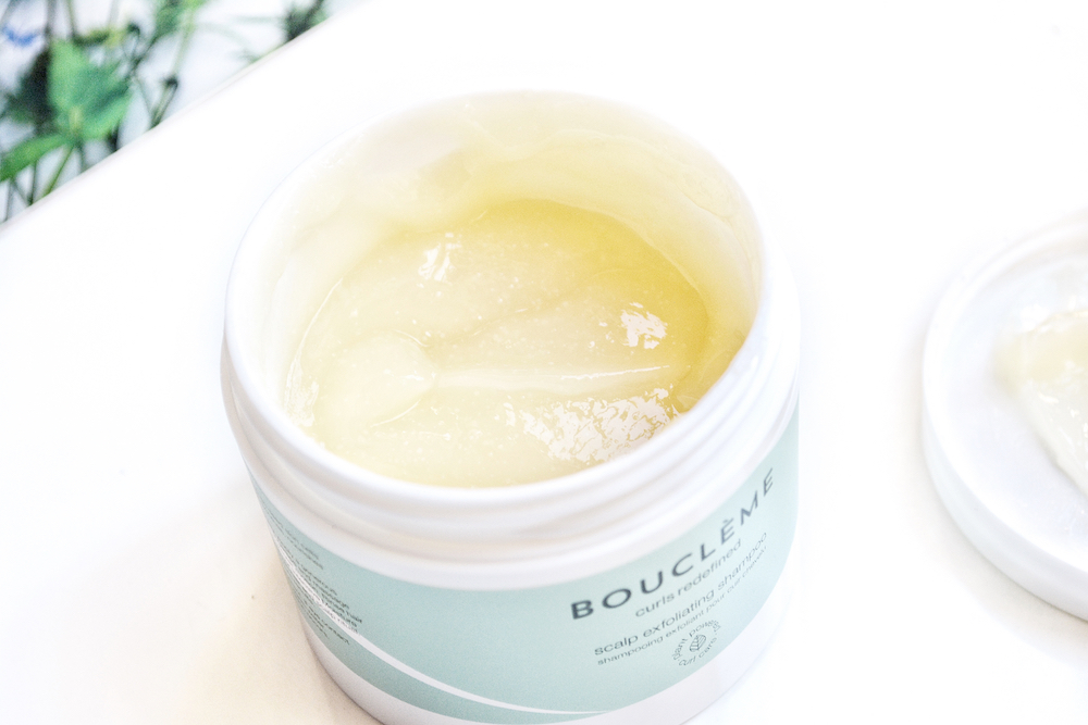 Review of Bouclème Scalp Exfoliating Shampoo - natural haircare for natural curls