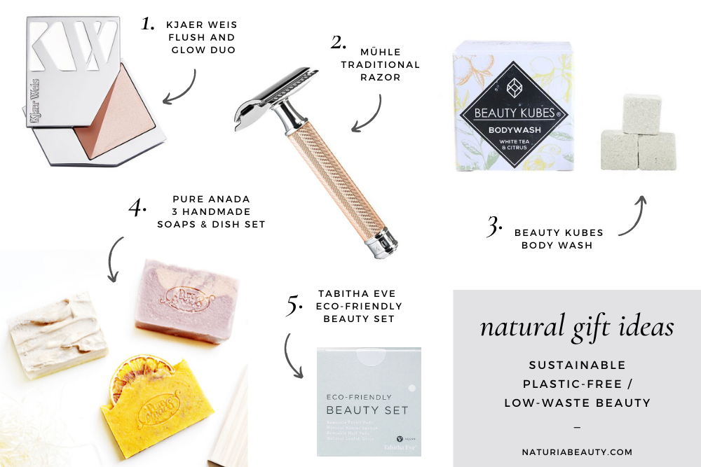 Low-waste/plastic-free natural beauty gift ideas