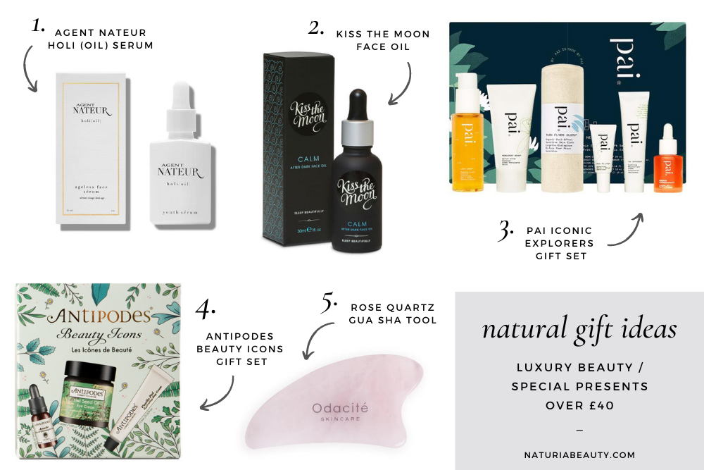 Luxury natural and organic gift ideas