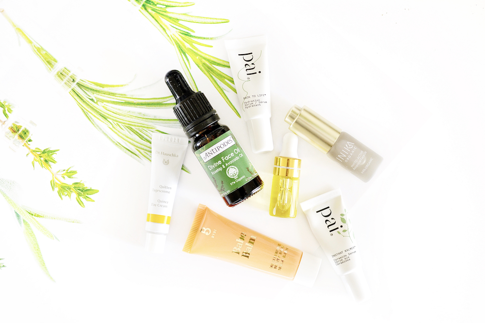 Natural and organic skincare minis reviews, featuring Inika, Antipodes, ByBi Beauty, Pai, Dr. Hauschka and Tabitha James Kraan