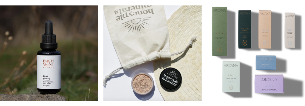 Natural beauty bucket list brands to try - Earthwise Beauty, Honeypie Minerals & Arcana