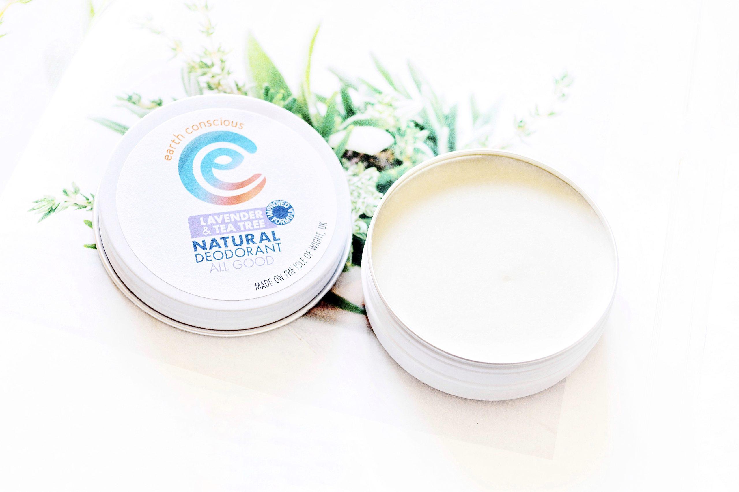 Earth Conscious Lavender & Tea Tree Natural Deodorant review
