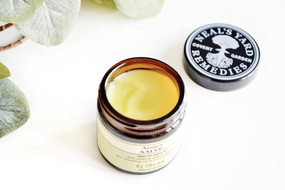 Neal's Yard Remedies Arnica Salve review - a soothing and nourishing salve for aching muscles and joints made with organic arnica extract