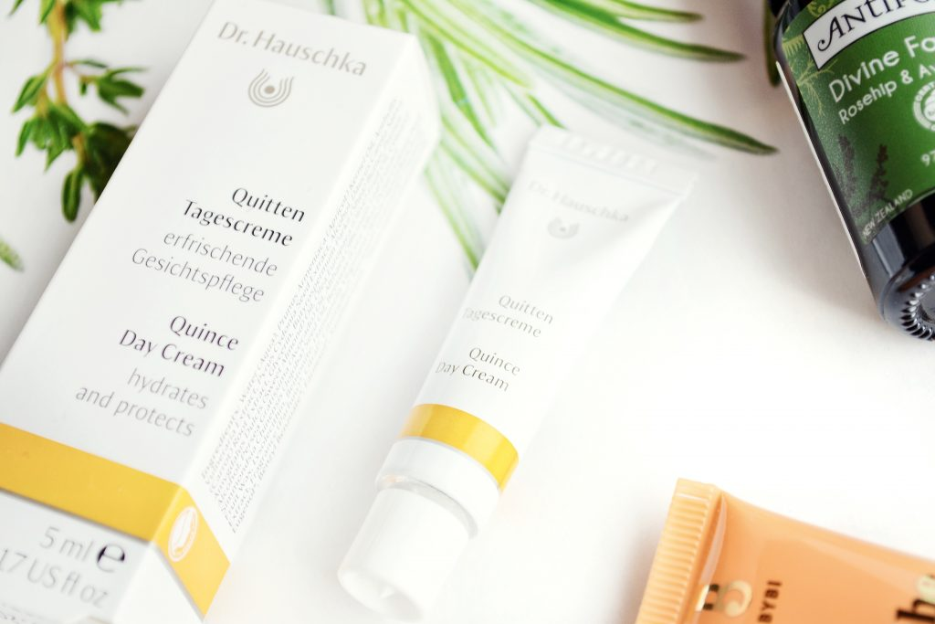 Dr. Hauschka Quince Day Cream review - natural skincare moisturiser for normal skin