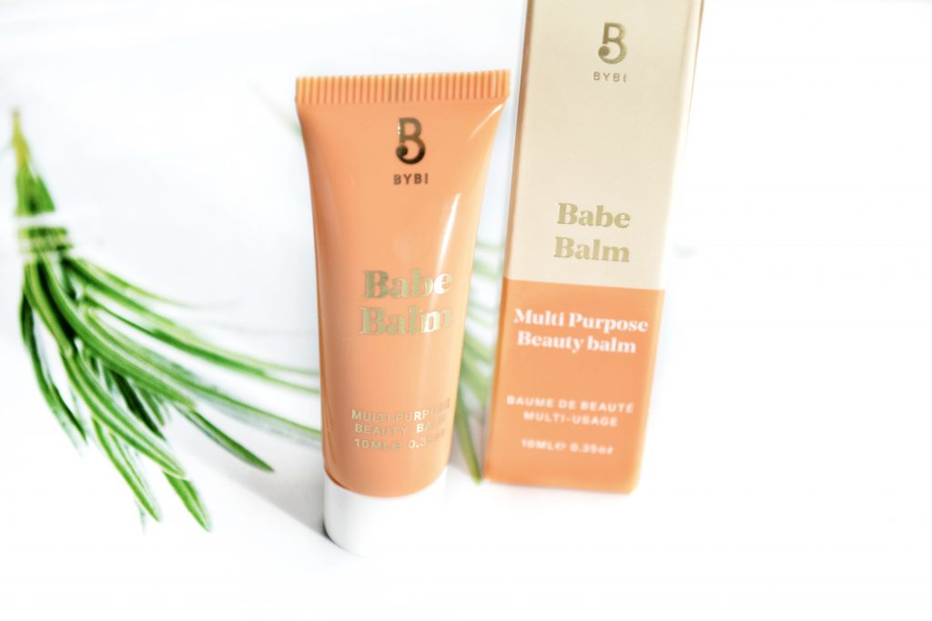 BYBI Babe Balm review - 100% natural and vegan balm for softening dry patches of skin during the winter months