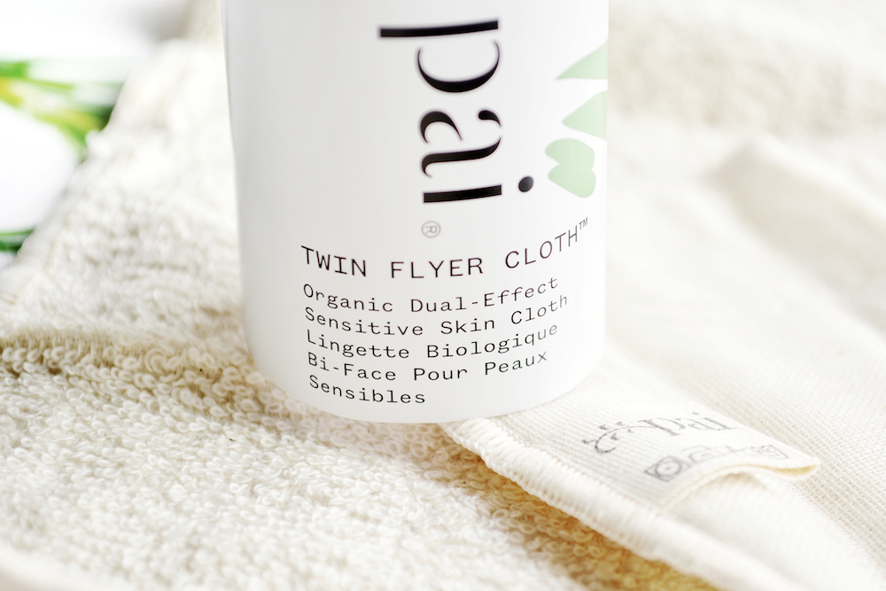 Review of Pai Twin Flyer Cloth - an organic, dual-effect sensitive skin cloth for cleansing and removing makeup